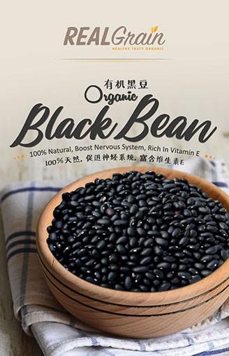 REALGrain Organic Black Bean 有机黑豆